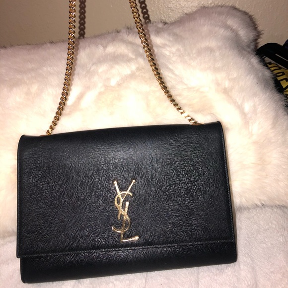 96157c304ae Yves Saint Laurent Bags   Large Kate Chain Ysl Saint Laurent Bag ...
